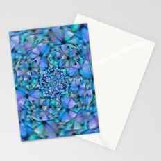 Swirling Butterflies Stationery Cards