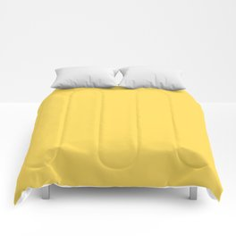 Mustard - solid color Comforters
