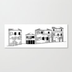 Traditional Settlement Canvas Print
