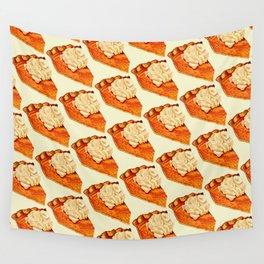 Pumpkin Pie Pattern Wall Tapestry