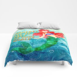 Part of Your World Comforters