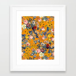 Summer Botanical Garden IX Framed Art Print