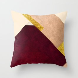 Modern Mountain No3-P1 Throw Pillow
