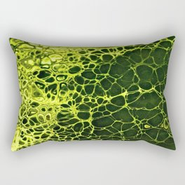 Cells - Slime Green Rectangular Pillow