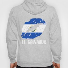 SLV El Salvador Kiss Lips Tee Shirt Hoody