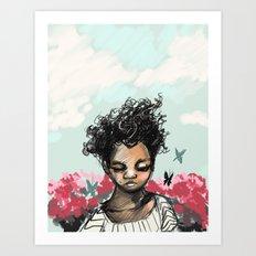 The Most Beautiful Flower Art Print