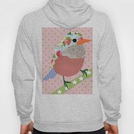 Collage Bird Hoody