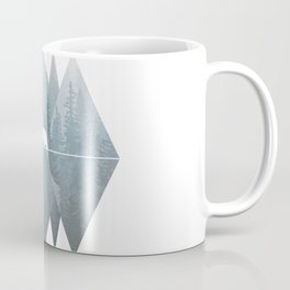 Misty Forest Mountain Bear Coffee Mug