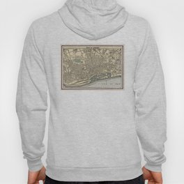 Vintage Map of Dundee Scotland (1901) Hoody