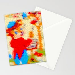 Little bear and birdy's concert ... Stationery Cards