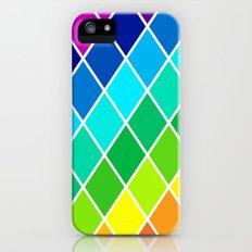 Tetrahedral Rainbow Slim Case iPhone (5, 5s)