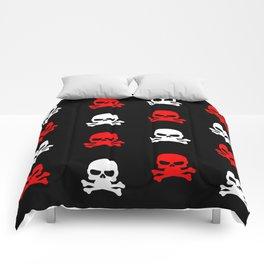 skull pattern Comforters