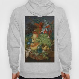 "Jan van Os  ""Fruit still life with a mouse on a ledge"" Hoody"