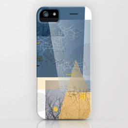 twigs and trees iPhone Case