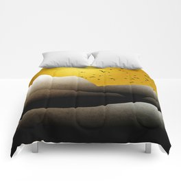 Sunrise Mountain Landscape Comforters