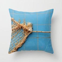 Knot The Sea Throw Pillow