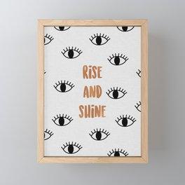 Rise & Shine Framed Mini Art Print