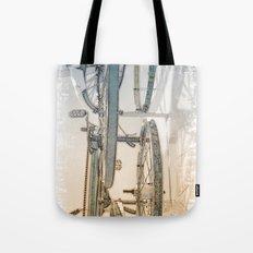 Rusty Blues Tote Bag