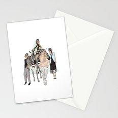 Stripe Tease Stationery Cards