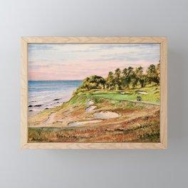 Whistling Straits Golf Course Framed Mini Art Print