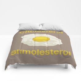 Cholesterol Shmolesterol Comforters