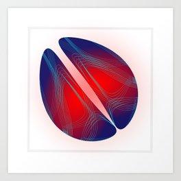 Circle Study No. 481 Art Print