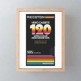 RECOTON VHS Framed Mini Art Print
