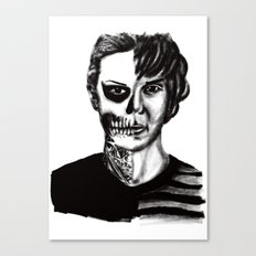 Tate from American Horror Story Canvas Print