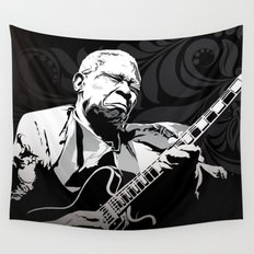 BB King Wall Tapestry