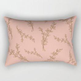 thyme herb pattern Rectangular Pillow