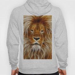 Lion Portrait Art Hoody