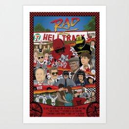 Rad Poster Art Print