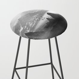 Black and White - Winter. Melody... Bar Stool