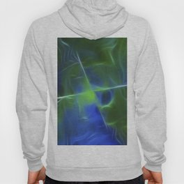 Green Frequency Hoody