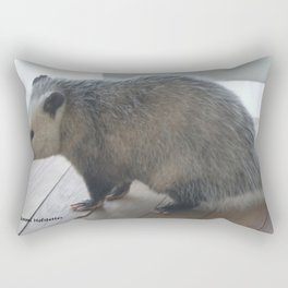 Oh Oppossum Rectangular Pillow