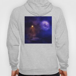 Street Lights in the night Hoody