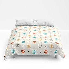 Pattern Skulls Color Comforters