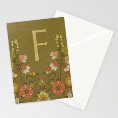F. Stationery Cards