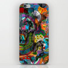 Every thought can change the day when let out in joyful play iPhone & iPod Skin