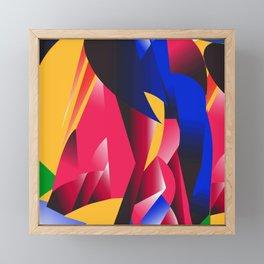 Art Pop Section Framed Mini Art Print