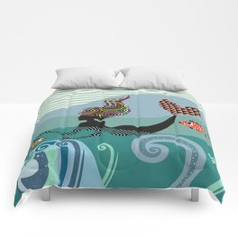 Cute Mermaid Comforters
