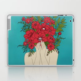 Blooming Red Laptop & iPad Skin