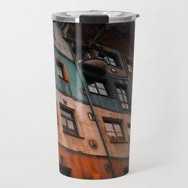 Hundertwasser museum Travel Mug