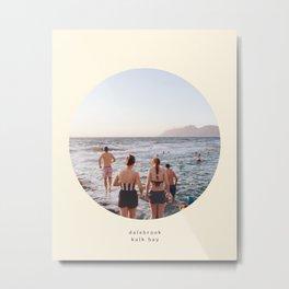 dalebrook tidal pool, kalk bay Metal Print