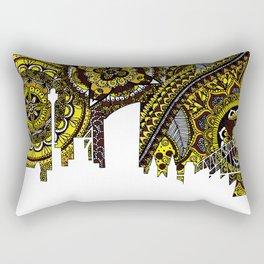 Sydney Australia Skyline Rectangular Pillow
