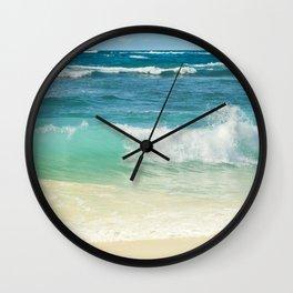 Summer Sea Wall Clock