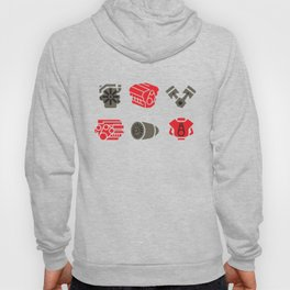 Car and Airplane Engines Hoody