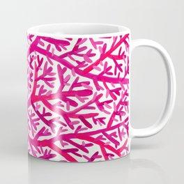 Fan Coral – Pink Ombré Coffee Mug