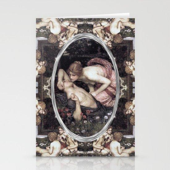 Awakening of Adonis (Waterhouse) Stationery Cards