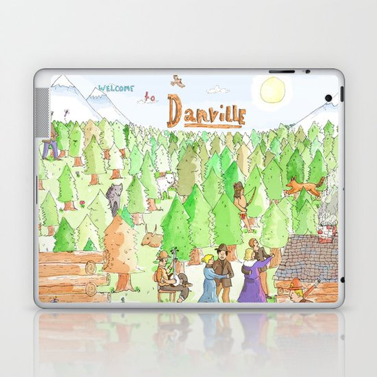 Locals Only- Danville Laptop & iPad Skin
